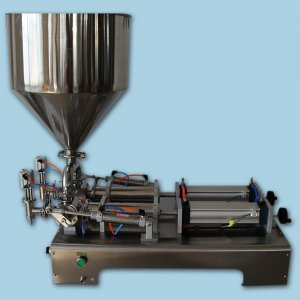 Double Head Paste Filling Machine